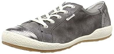Josef Seibel  Caspian 14, Sneakers Basses femme - Gris - Grau (asphalt/anthrazit), 36