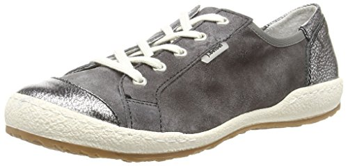 Josef Seibel Caspian 14 Damen Sneakers Grau (asfalto / Antracite)