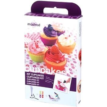 Mastrad F44060 Kit de Pâtisserie pour Cupcakes