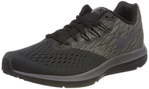 Nike Damen Wmns Zoom Winflo 4 Laufschuhe Mehrfarbig (Anthracite/black/dark Grey)