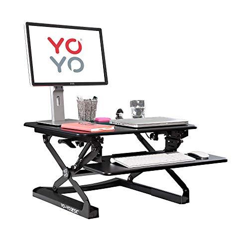 STANDING DESK MEGASTORE Stehschreibtisch Yo-Yo Desk Mini, höhenverstellbar, Breite 68cm