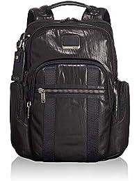 Tumi Alpha Bravo Nellis Leather Backpack 15