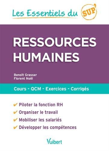 Ressources humaines : Cours - QCM - Entraînement - Corrigés