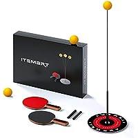 Herramienta De Entrenador De Tenis De Mesa con Juego De Deportes De Eje Suave Elástico para Niños Adulto Interior Al Aire Libre Ejercicio Accesorio Ping Pong Ball Machine Training