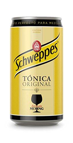 Schweppes Tónica Bebida Refrescante - 250 ml - [Pack de 24]