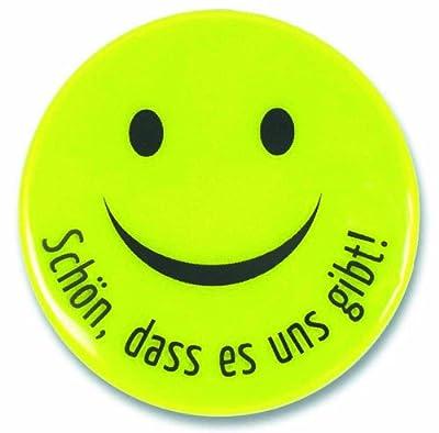 """°° Smiley- Reflektor """"Schön, dass es uns gibt"""" FARBAUSWAHL"""