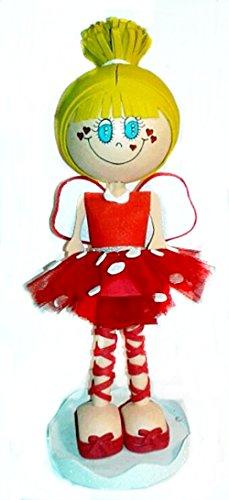 Muñeca Personalizada Fofucha Campanilla Roja
