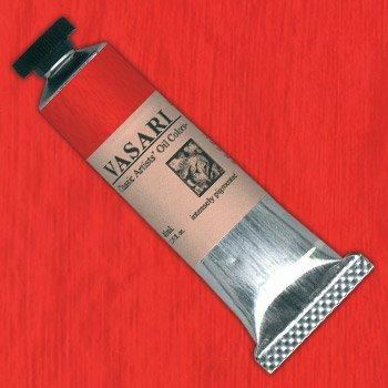 VASARI : CLASSIC OIL PAINT : 40ML : CADMIUM VERMILLION RED LIGHT