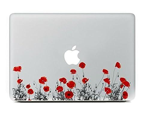 Stillshine Super dünn Removable Bunte Muster Sticker Aufkleber Skin für Apple MacBook Pro / Air 13