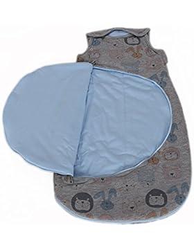 MyHoppi Babyschlafsack   praktischer Windelwechsel-Reißverschluss   100% Bio-Baumwolle (GOTS)   OEKO-TEX® Standard...