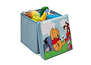disney winnie pooh spielzeugkiste hocker aufbewahrungsbox mit deckel spielzeugkiste. Black Bedroom Furniture Sets. Home Design Ideas