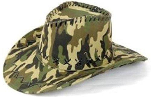 Ra-CW10 camouflage grün Rangerhut Safarihut Soldat