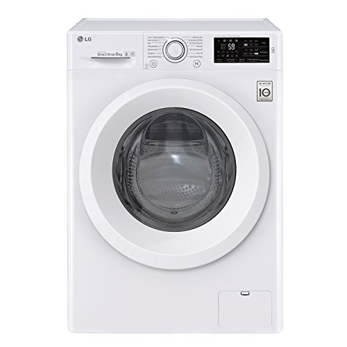 LG F 14�WM 8ln0�Independent Front Loading 8�kg 1400RPM A + + + -30% White���Washing Machine (Freestanding, Front Loading, White, Rotary, Touch, White, 8�kg)