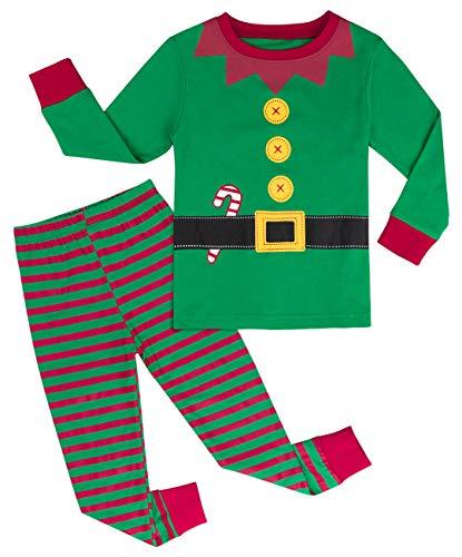 Mintgreen Pijama Navidad Bebé Niño Manga Larga Disfraz