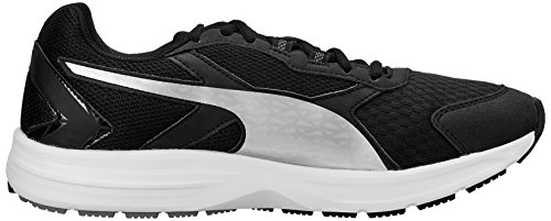 Puma Descendant V3  Men s Running Shoes  Black - Schwarz  black-puma silver 05   8 UK