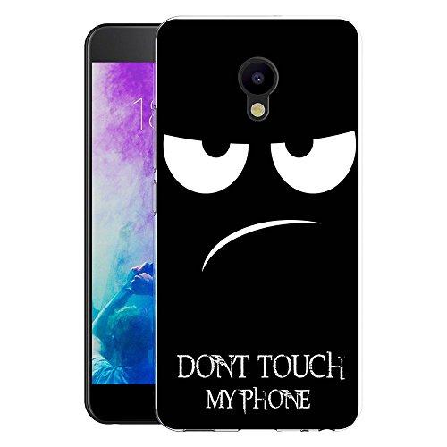 Meizu M5 Handy Tasche, FoneExpert® Ultra dünn TPU Gel Hülle Silikon Case Cover Hüllen Schutzhülle Für Meizu M5