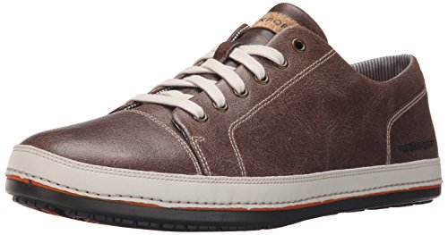 rockport-harborpoint-hommes-us-10-brun-baskets