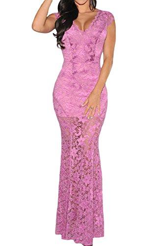 Dissa® femme Violet SY6676-1 Tenue De Soiree Violet