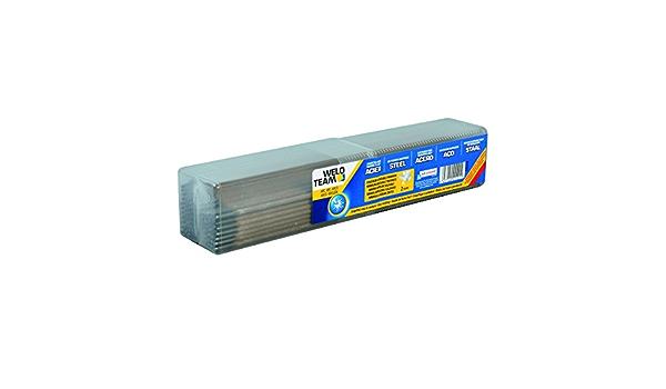 WELDTEAM Pack de 25 baguettes ARC ACIER pour la soudure /à larc /Ø2.0 mm