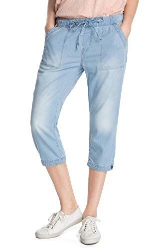 EDC by Esprit Capri 045CC1B021 - Jeans - Sarouel - Femme Bleu (C Light Blue 956)