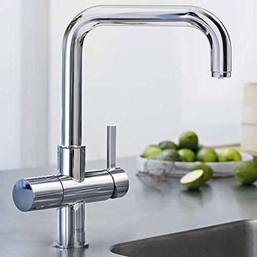GROHE Blue Pure Küchenarmatur mit Filterfunktion, U-Auslauf 31299001 -
