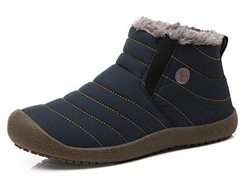 Bild von Eagsouni Herren Schneestiefel Damen Winterschuhe Warm Gefüttert Winterstiefel Winter Schuhe Outdoor Kurz Boots Stiefel Stiefeletten