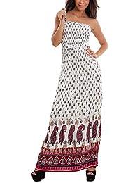 aede69c1757b Amazon.it  vestito etnico - Stile impero   Vestiti   Donna ...
