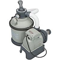 Intex Sandfilteranlage Krystal Clear 4 m³, Grau, 4.000 l/h / 190 W / 230 V