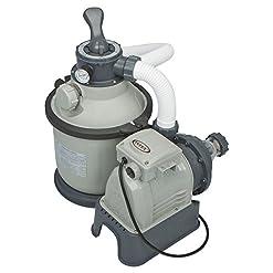 Intex -Pompa di filtraggio a Sabbia per Piscine fuoriterra e interrate