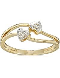 Senco Gold 14KT Yellow Gold and Diamond Ring for Women
