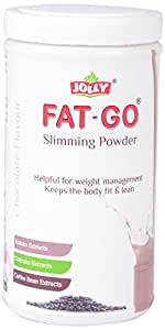 Jolly Fat Go Slimming Powder With Kokum , Chitraka And Coffee Bean Extracts (Chocolate)- 500 Gm