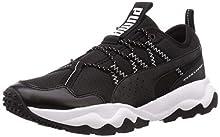 PUMA Men's Ember Trl Running Shoes, Black Black White 02, 8.5 UK 42.5 EU