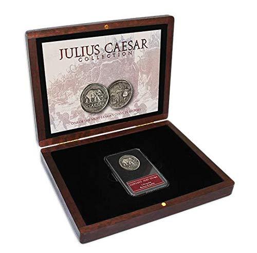 1 - IMPACTO COLECCIONABLES Moneda Romana - Moneda del Emperador Julio César
