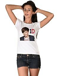 Louis Tomlinson White Girls T-shirt