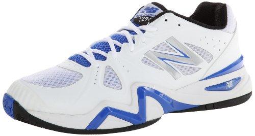 New Balance Mc1296 D, Chaussures de running homme, Weiß - Blanc (White/Blue (110)), 45.5 EU