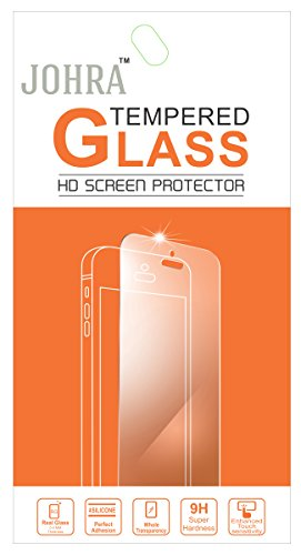 Johra 9H HD+ Real Tempered Glass Screen Scratch Guard Protector For Xolo Era 4K