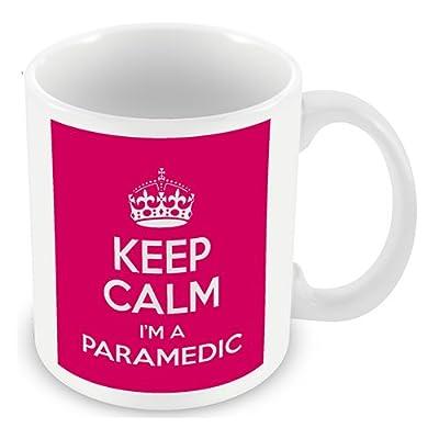Keep Calm I'm a Paramedic (Pink) Mug
