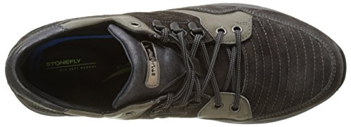 Stonefly Warren 4 Velour Oil, Baskets Homme Gris (Charcoal)
