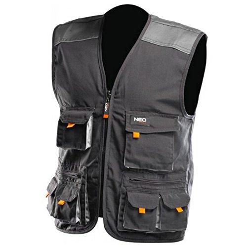 Profi Arbeitsweste Arbeitsbekleidung Berufskleidung Arbeitsjacke Weste Größe XL