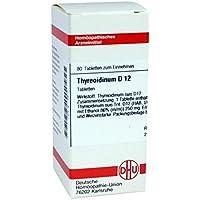 Thyreoidinum D 12 Tabletten 80 stk preisvergleich bei billige-tabletten.eu