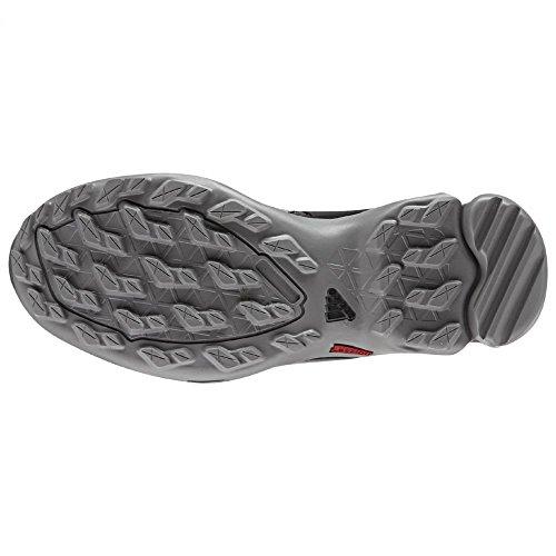 Adidas all'aperto Terrex Swift R Gtx escursionismo scarpe - nero / viola scoppio 5 Granite / Black / Solid Grey