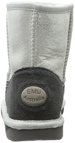 EMU Australia Stinger, Stivali da Neve Donna Multicolore (Metallic Silver)