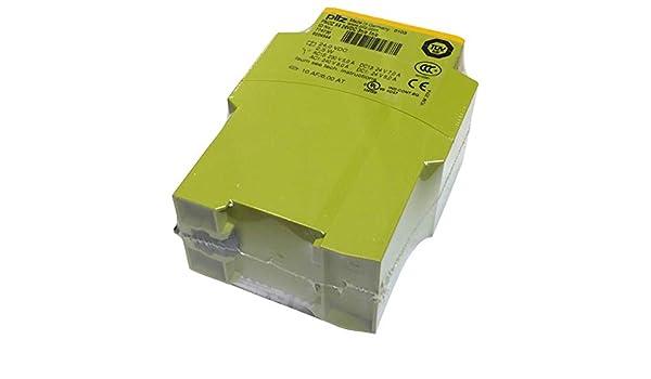 PILZ 24VDC SAFETY RELAY PNOZ X4 24VDC 3n//o 1n//c