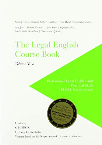 The Legal English Course Book Vol. I+II