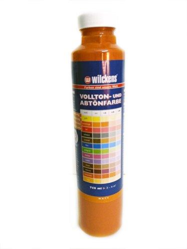 Qualitäts Abtoenfarbe - Volltonfarbe / 750 ml/matt - 14 Farben zur Auswahl (Terracotta)