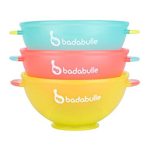 Badabulle B005103 - Set de 3 bols