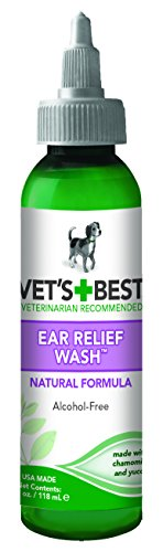 Veterinarian's Best Ear Relief Wash 4oz