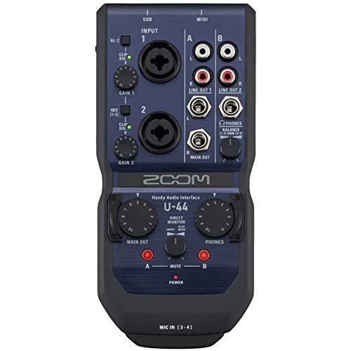 Zoom U-44 Interfaccia Audio