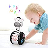 Juguete musical de Tumbler Doll Baby, juguetes Roly-Poly sonajeros con luces,...