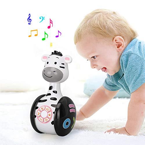Juguete musical de Tumbler Doll Baby, juguetes Roly-Poly...